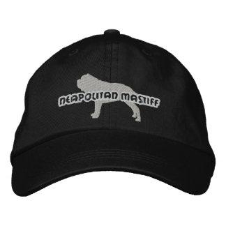 Silhouette Neapolitan Mastiff Embroidered Hat