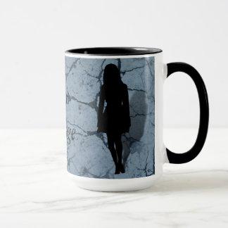 Silhouette of a Woman Mug