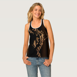 SILHOUETTE OF A WOMAN TANK TOP