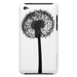 Silhouette of dandelion barely there iPod cover