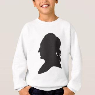 silhouette of Goethe Sweatshirt