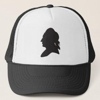 silhouette of Goethe Trucker Hat
