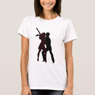 Silhouette of Salsa Dancers T-Shirt