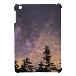 Silhouette of Trees at Night iPad Mini Case