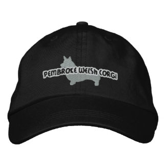 Silhouette Pembroke Welsh Corgi Embroidered Hat