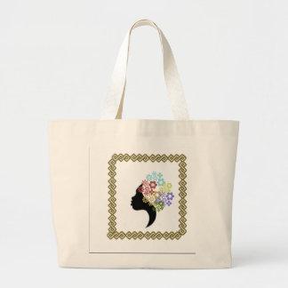 Silhouette Portrait  Tote Bag