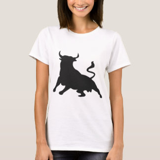 Silhouette Running with the Bulls Spain T-Shirt