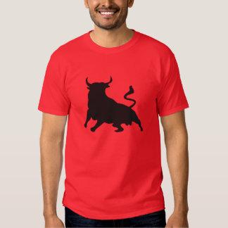 Silhouette Running with the Bulls Spain Tee Shirt