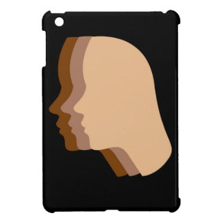 Silhouette showing tanning of skin case for the iPad mini