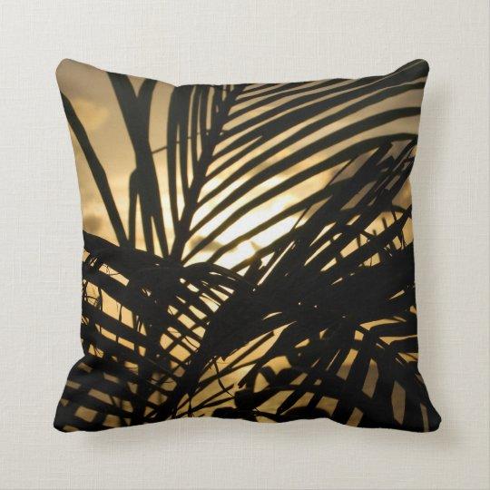Silhouette Sunset Pillow