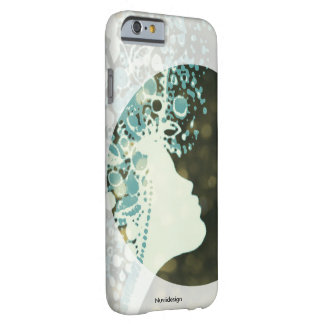silhouette woman i pad case
