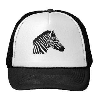 Silhouette Zebra Hats