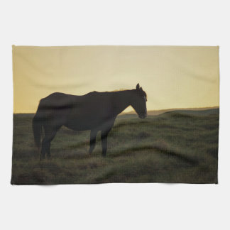 Silhouetted Horse Kitchen Towel