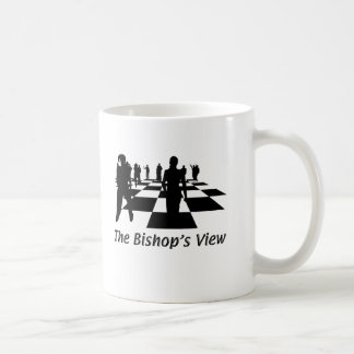 Silhouettes - Chess - Bishops View Coffee Mug