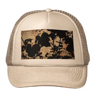 SILHOUETTES-PANSIES TRUCKER HAT