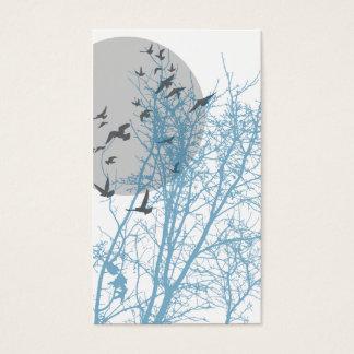 silhouscreen les oiseaux cartes de visite