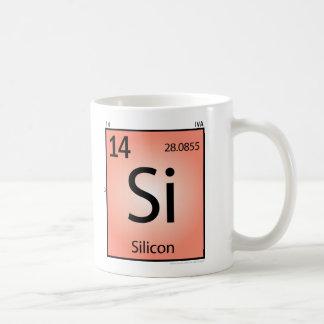 Silicon (Si) Element Mug