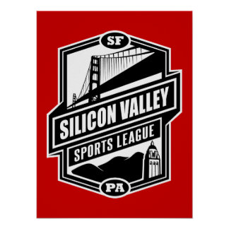 Silicon Valley Sports League Poster