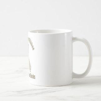 Silicone Ribbon Support Fake Boobs Classic White Coffee Mug