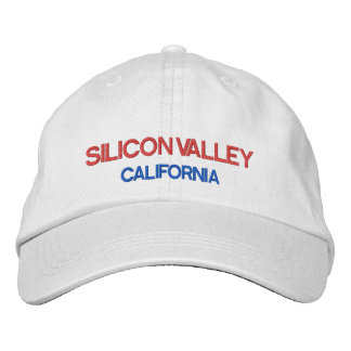 Silicone Valley*-Hut Silicon Valley has Embroidered Baseball Caps