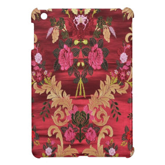 SILK BROCADE FLORAL ART INDIA COVER FOR THE iPad MINI
