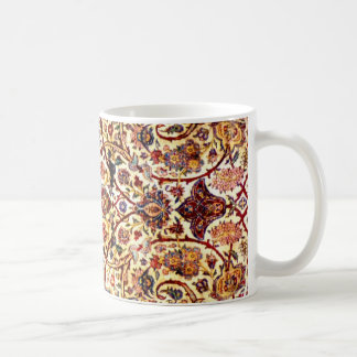 silk carpet coffee mug