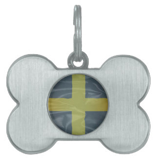 Silk Flag of Saint David Of Wales Pet ID Tag