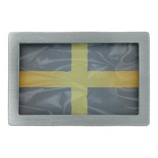 Silk Flag of Saint David Of Wales Rectangular Belt Buckles
