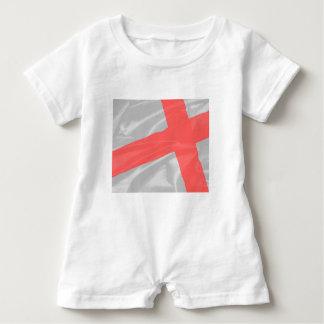 Silk Flag of Saint George Baby Romper