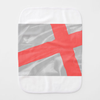 Silk Flag of Saint George Burp Cloth