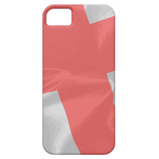 Silk Flag of Saint George Case For The iPhone 5