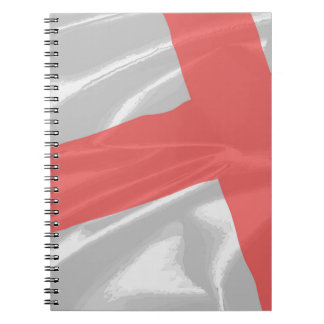 Silk Flag of Saint George Notebook
