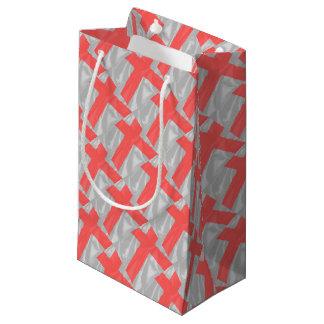 Silk Flag of Saint George Small Gift Bag