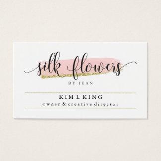 Silk Flowers by Jean Custom Cards