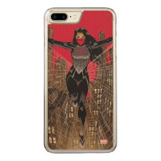 Silk In Web Carved iPhone 8 Plus/7 Plus Case