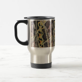 Silk, Pearls and Chains Print Travel Mug
