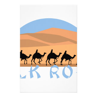 Silk Road Personalized Stationery