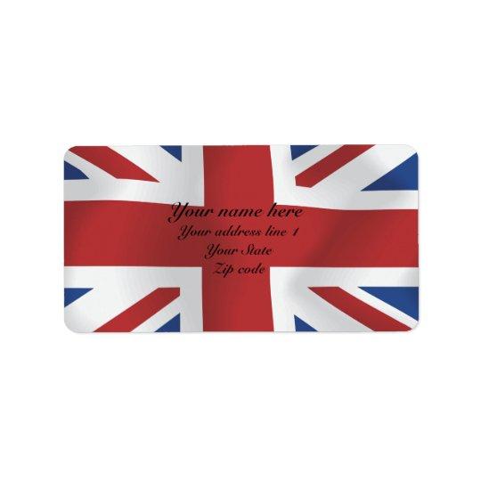 Silk style Union Jack British Flag