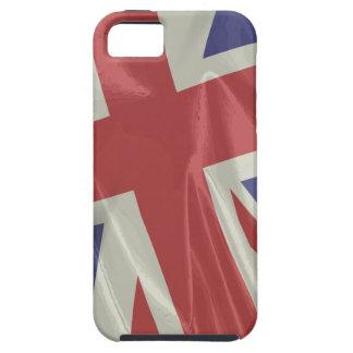 Silk Union Jack Flag Closeup iPhone 5 Covers