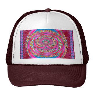 Silken Ribbon Jewelled Emblem Elegant Wedding Gift Trucker Hats
