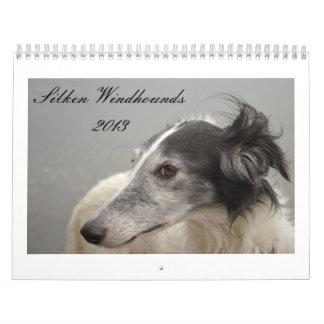 Silken Windhounds 2013-2 Calendar