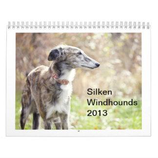 Silken Windhounds 2013 Calendar