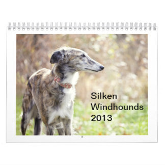 Silken Windhounds 2013 Wall Calendars