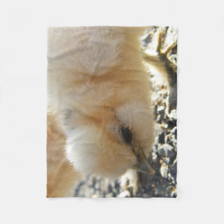Silkie Chick Fleece Blanket