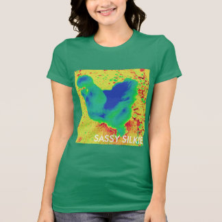 Silkie chicken sassy T-Shirt