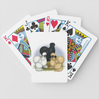 Silkie Trio Bicycle Playing Cards
