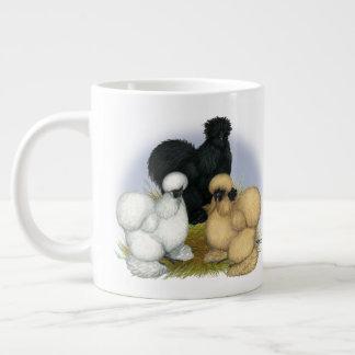 Silkie Trio Large Coffee Mug