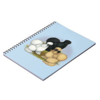Silkie Trio Notebooks