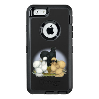 Silkie Trio OtterBox Defender iPhone Case