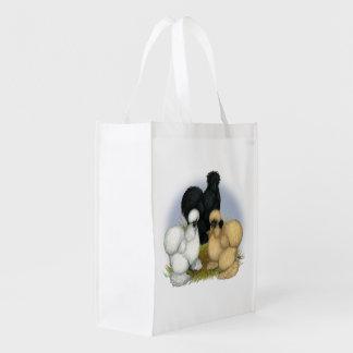 Silkie Trio Reusable Grocery Bag